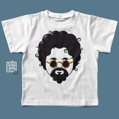 Camiseta Infantil Let's Rock Baby Raul Seixas Baby