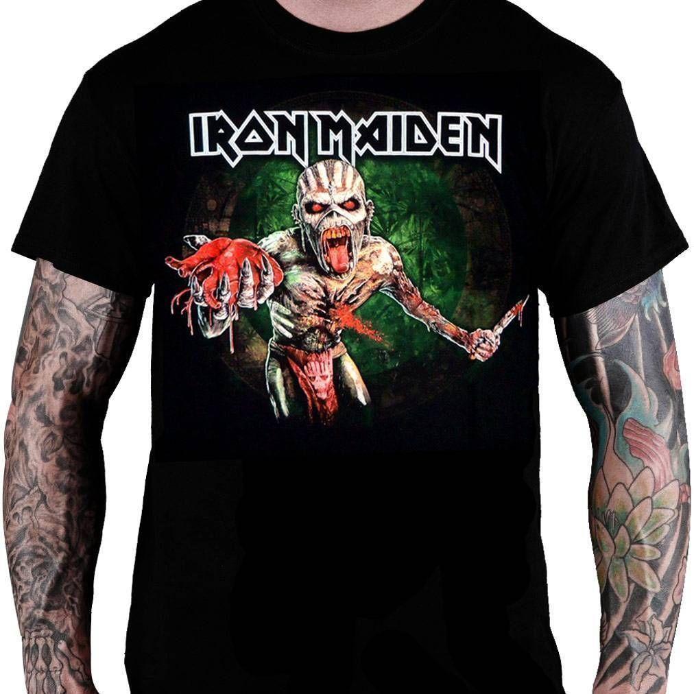 CamisetaIron Maiden The Book of Souls Montagem - Consulado do Rock
