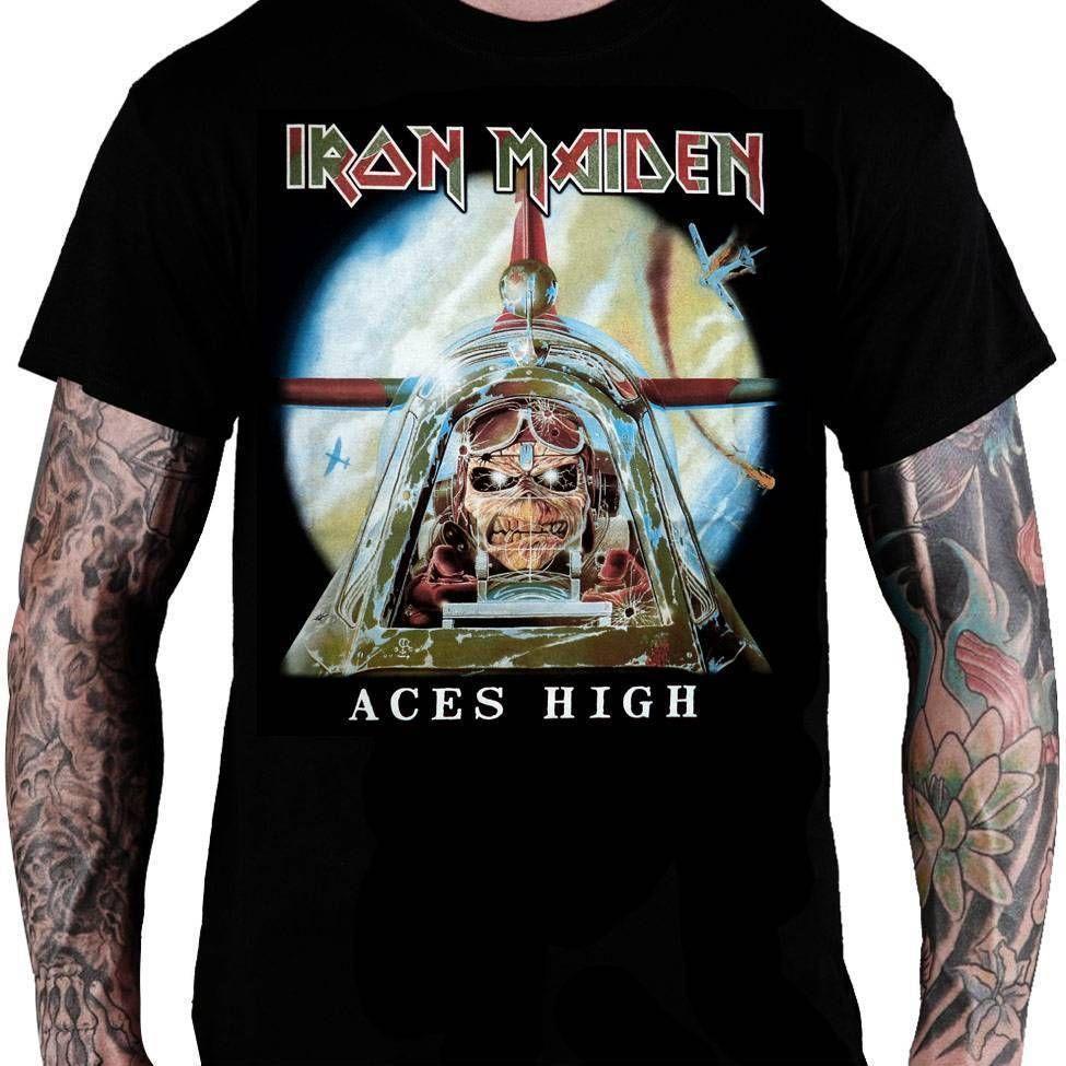 CamisetaIron Maiden Aces High - Consulado do Rock