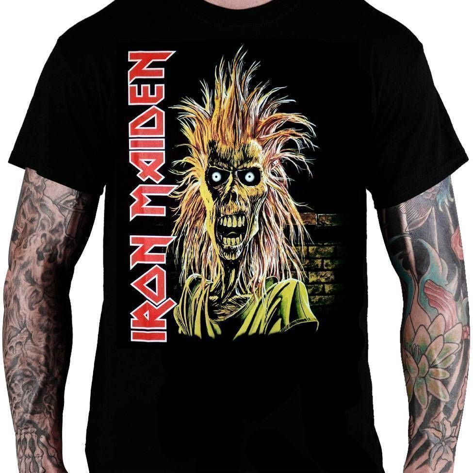 CamisetaIron Maiden Eddie - Consulado do Rock