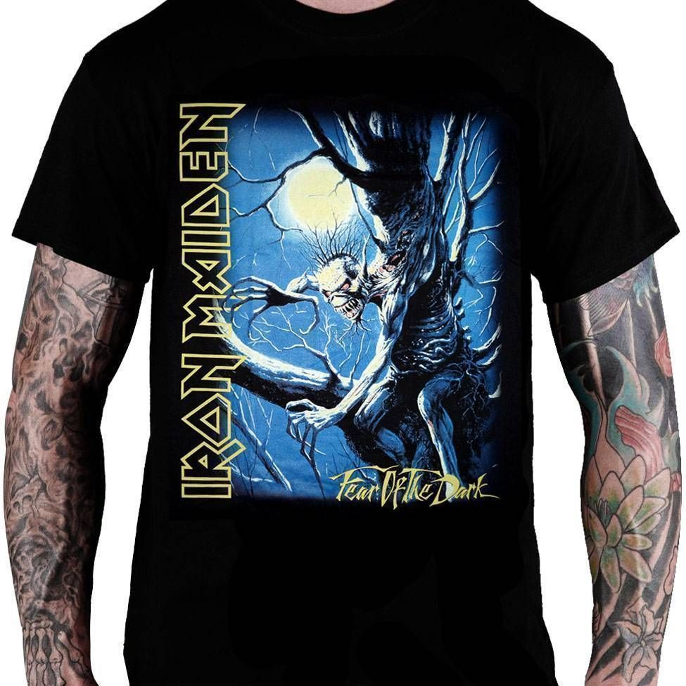 Camiseta Iron Maiden Fear of the Dark - Consulado do Rock