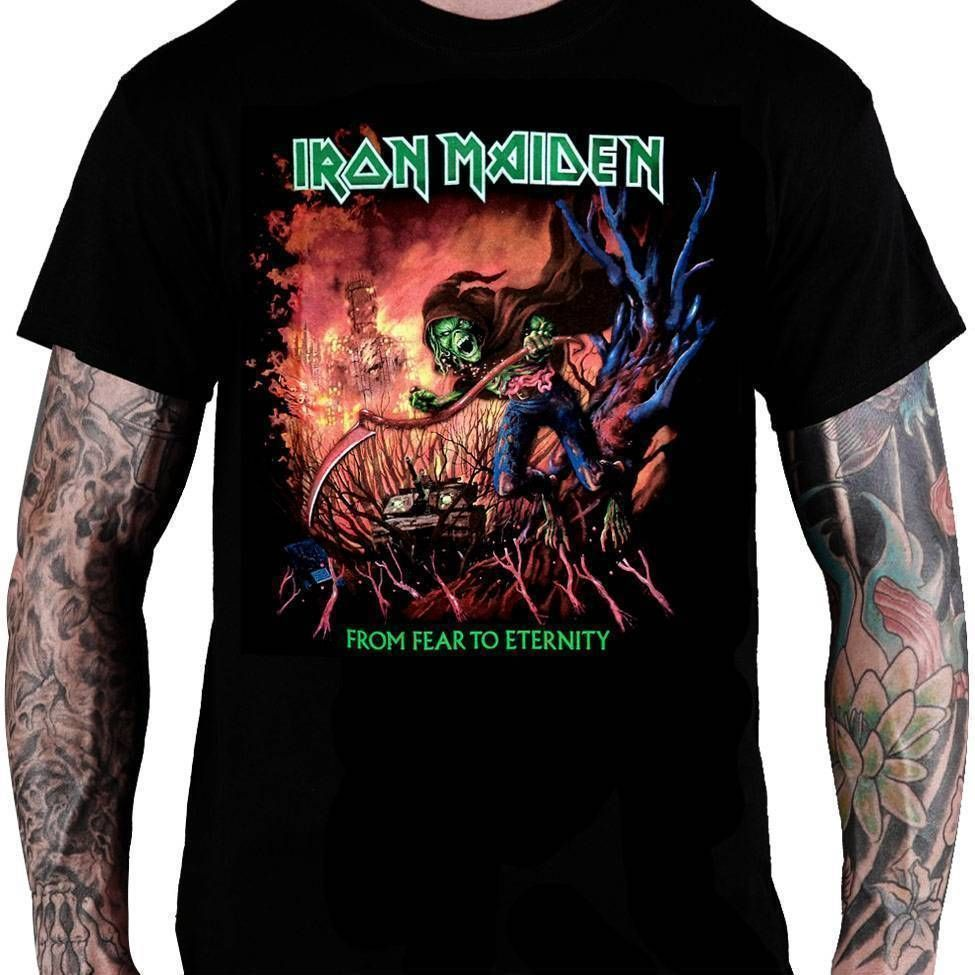 Camiseta Iron Maiden From Fear to Eternity - Consulado do Rock