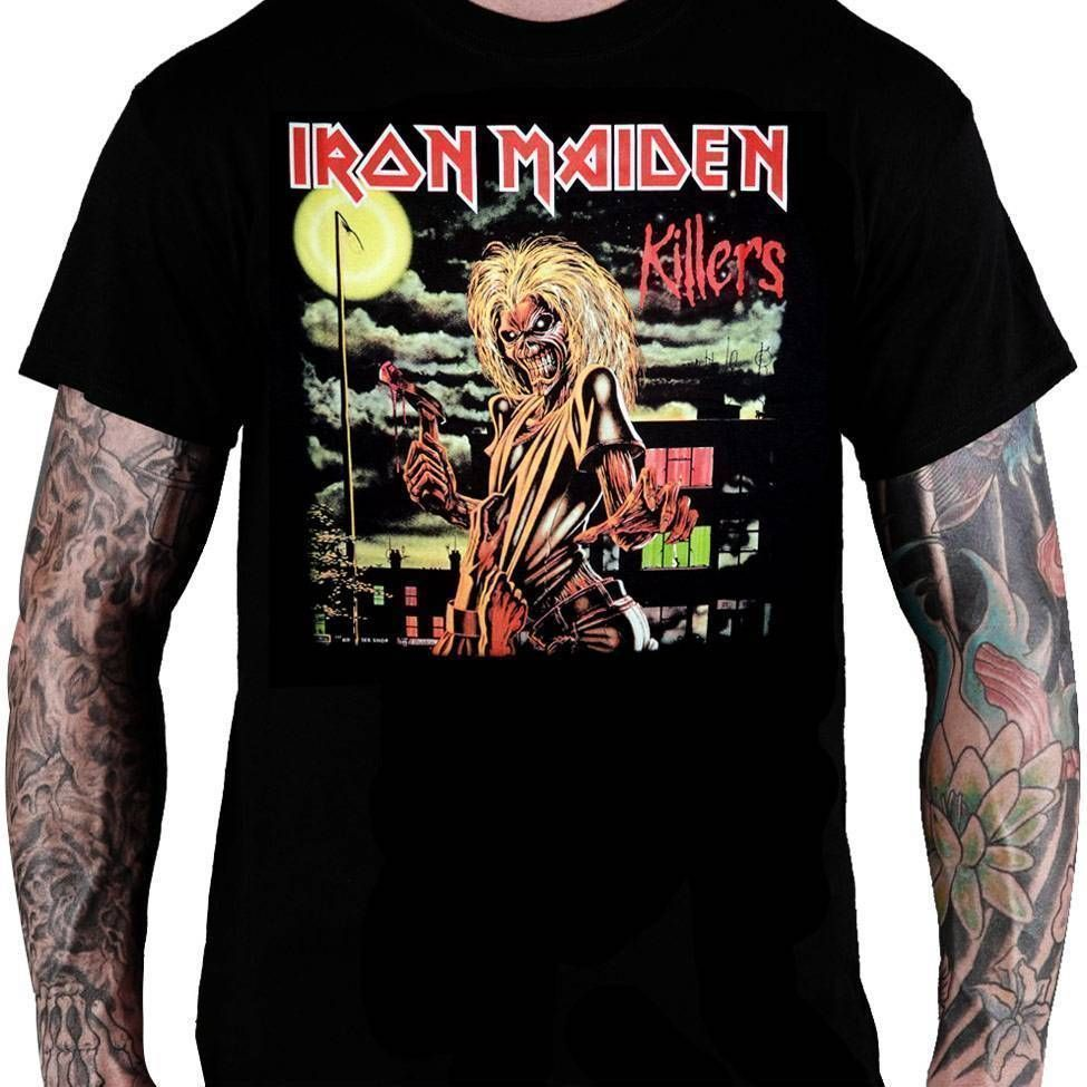 Camiseta Iron Maiden Killers - Consulado do Rock