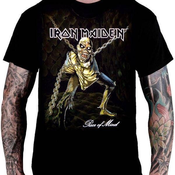 CamisetaIron Maiden Piece of Mind - Consulado do Rock
