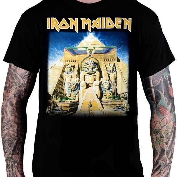 CamisetaIron Maiden Powerslave - Consulado do Rock