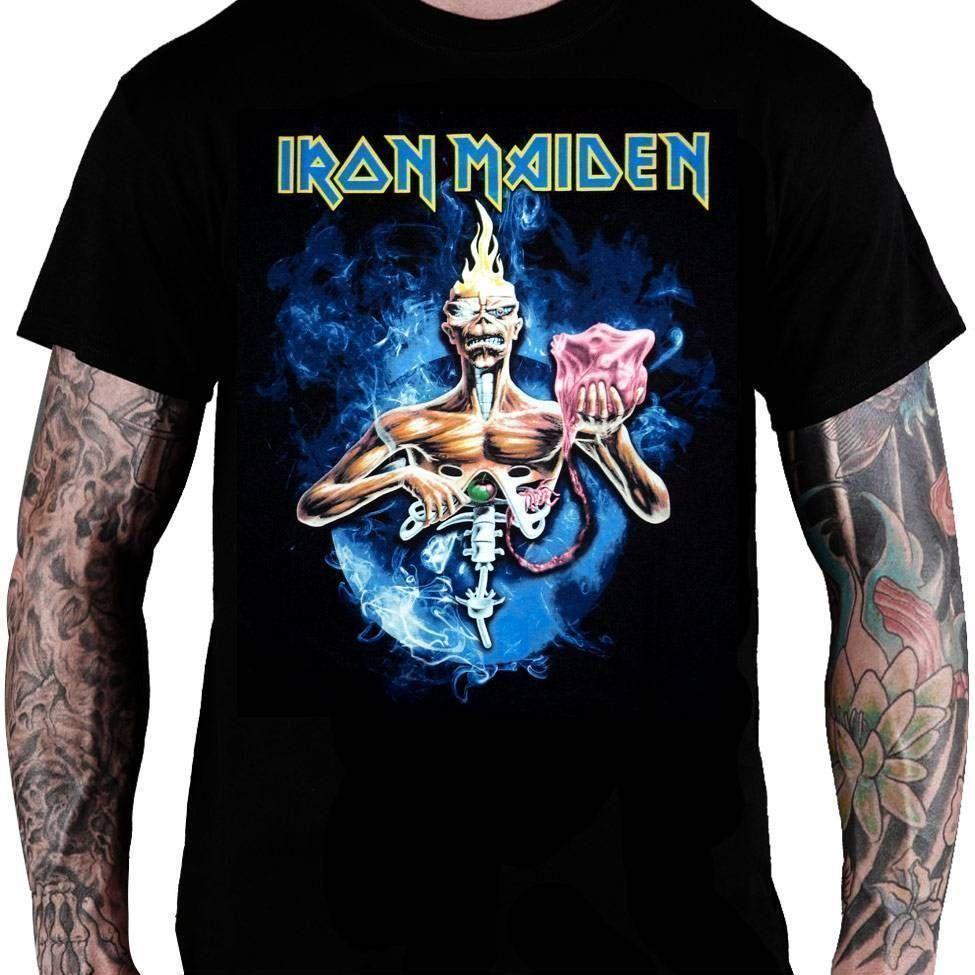 CamisetaIron MaidenSeventh Son of a Seventh Son - Consulado do Rock