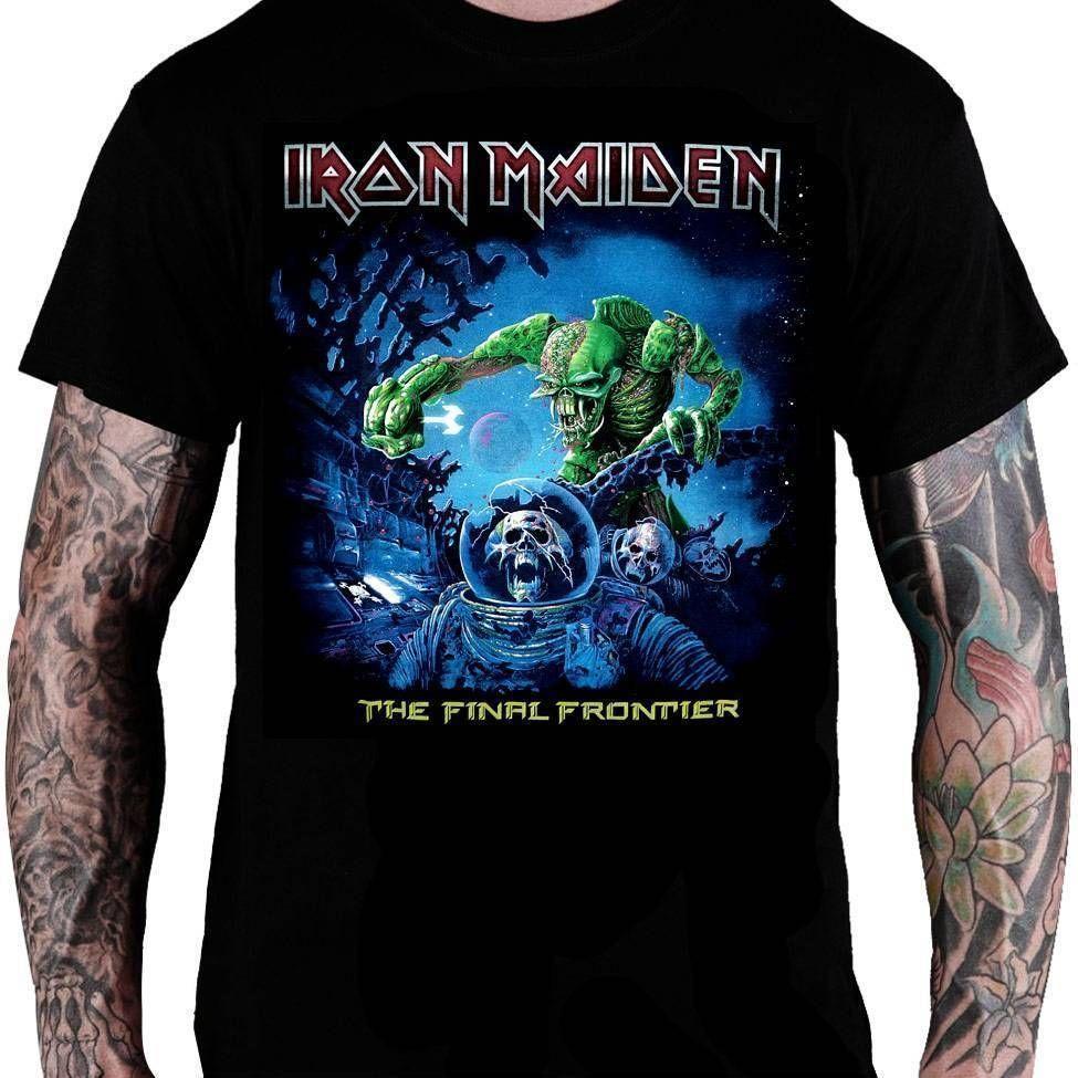 CamisetaIron MaidenThe Final Frontier - Consulado do Rock