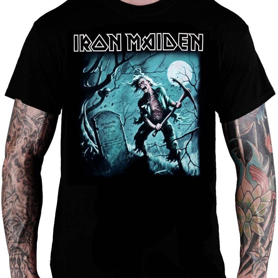 CamisetaIron Maiden The Reincarnation of Benjamin Breeg - Consulado do Rock