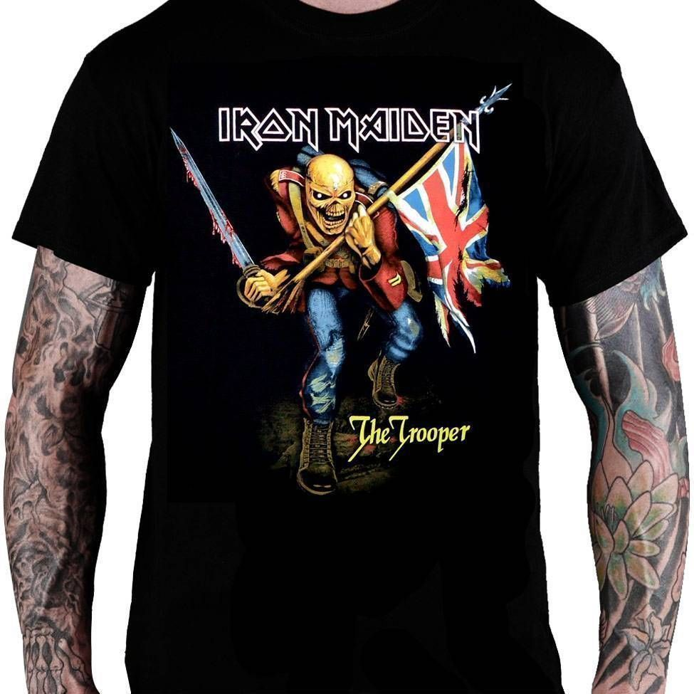 Camiseta Iron Maiden The Trooper - Consulado do Rock