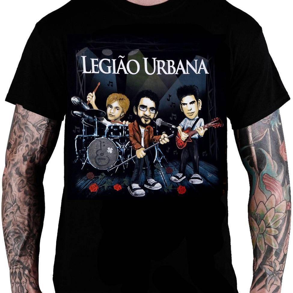 CamisetaLegião Urbana – Caricatura