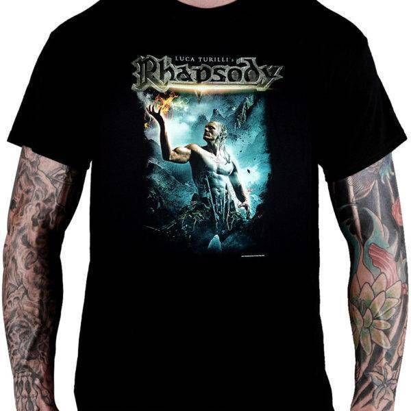 Camiseta Luca Turilli's Rhapsody – Prometheus: Symphonia Ignus Divinus