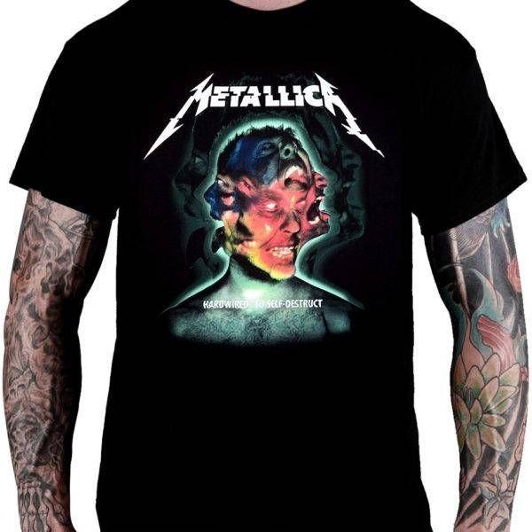 CamisetaMetallicaHardwired… To Self-Destruct - Consulado do Rock