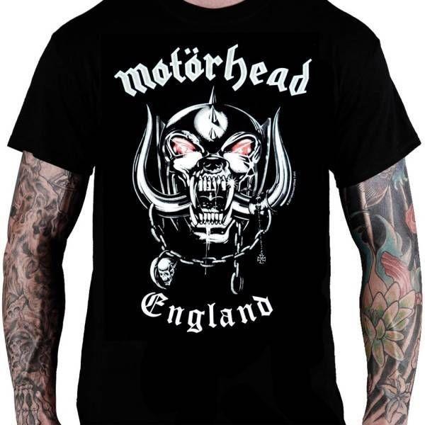 CamisetaMotörhead – England