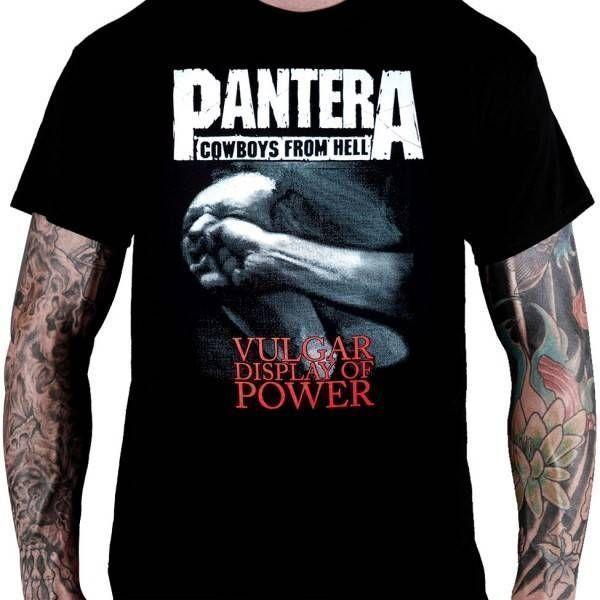 CamisetaPantera – Vulgar Display of Power
