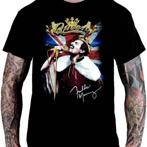 CamisetaQueen – Freddie Mercury