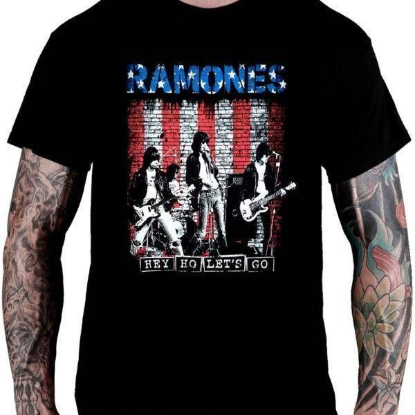 CamisetaRamones – Hey Ho Let's Go
