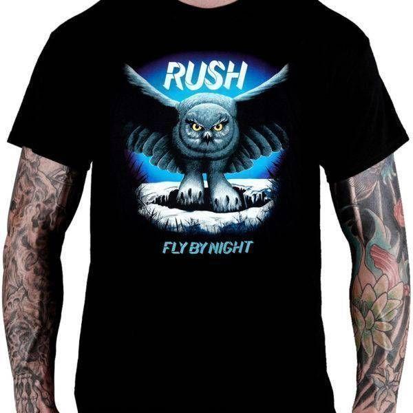 CamisetaRush – Fly By Night