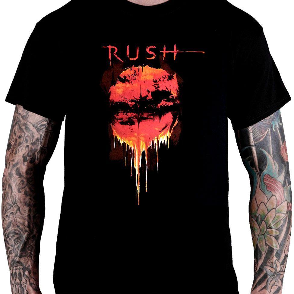 Camiseta Rush  - Vapor Trails