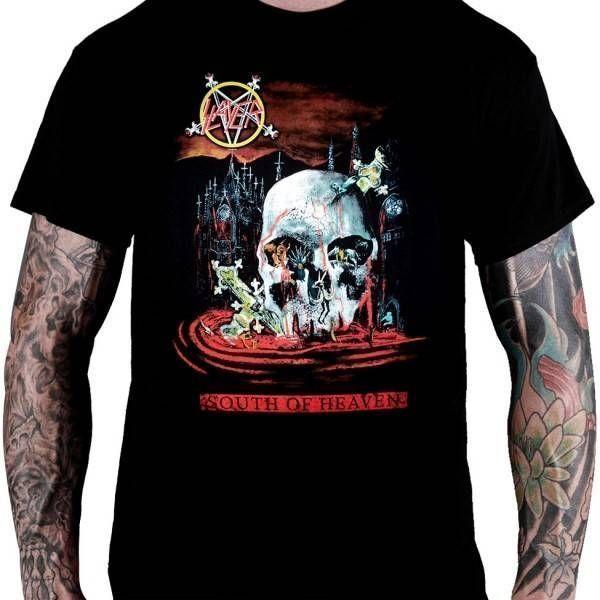 CamisetaSlayer – South of Heaven