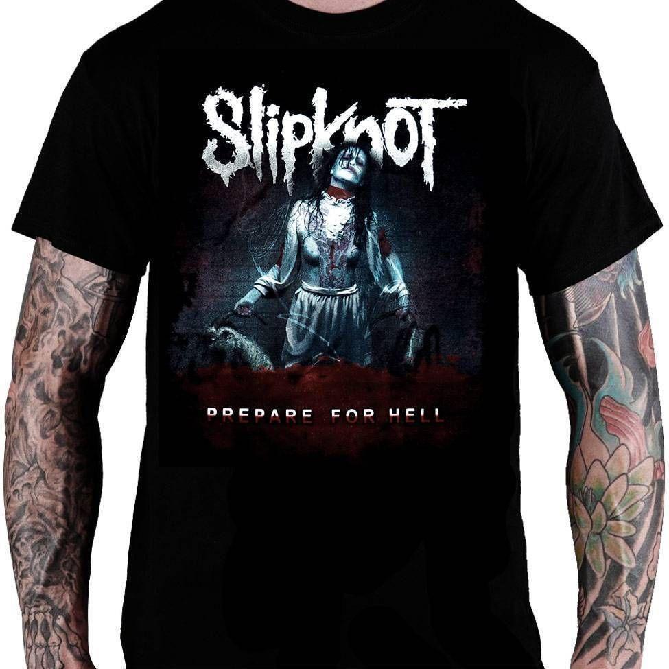 CamisetaSlipknot – Prepare for Hell