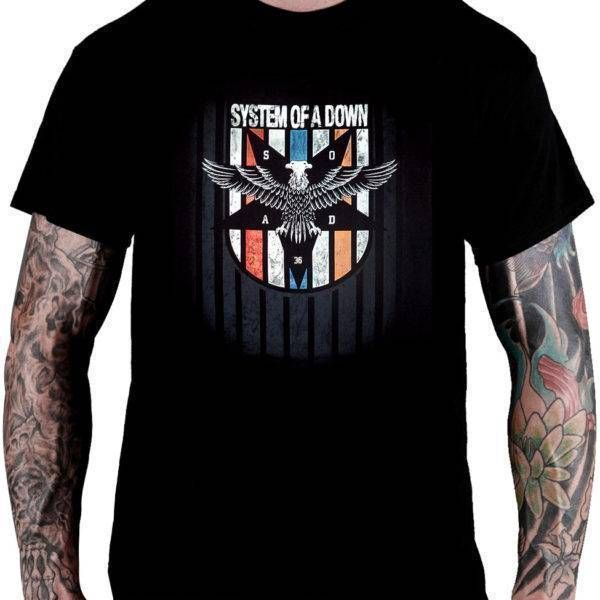 CamisetaSystom Of A Down – Eagle