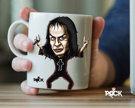 Caneca Exclusiva Mitos do Rock DIO