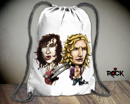 Mochila Saco Mitos do Rock Led Zeppelin