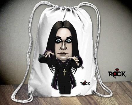 Mochila Saco Mitos do Rock Ozzy Osbourne