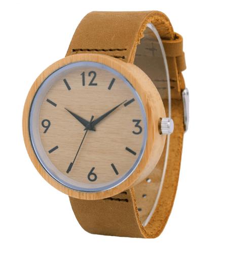 Relógio de Madeira Circle Basic – SkullAchando