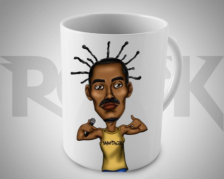 Caneca Exclusiva Mitos do Rock Sabotage