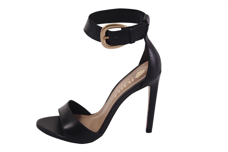 Sandália Conceito Fashion Couro Napa Preto – Conceito Fashion