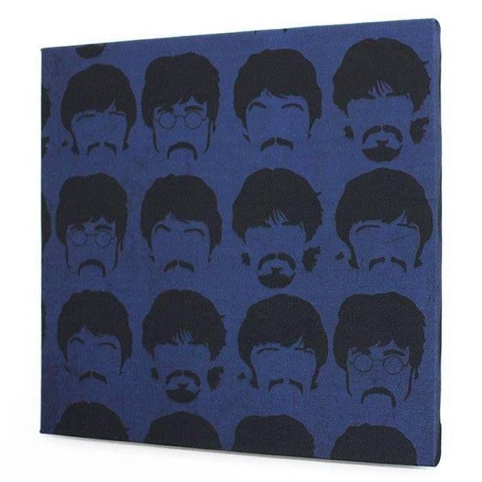 Tela Beatles Faces Blue – Rvalentim