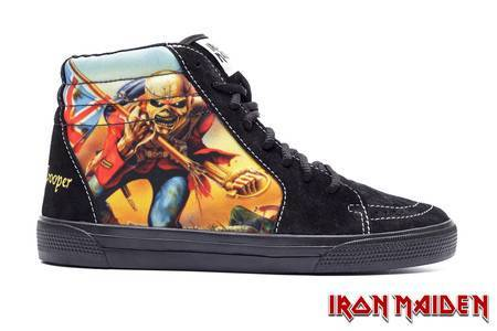 Tênis BandShoes Feminino Iron Maiden The Trooper