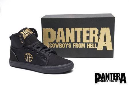 Tênis BandShoes Masculino Pantera Cowboys From Hell
