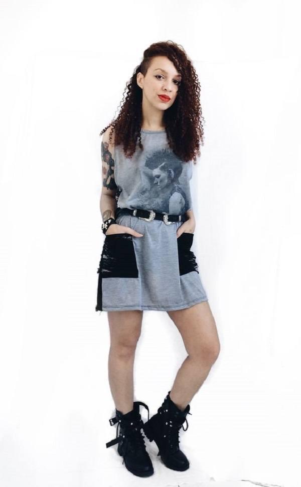 Vestido Lisbeth Salander - Psicose Store