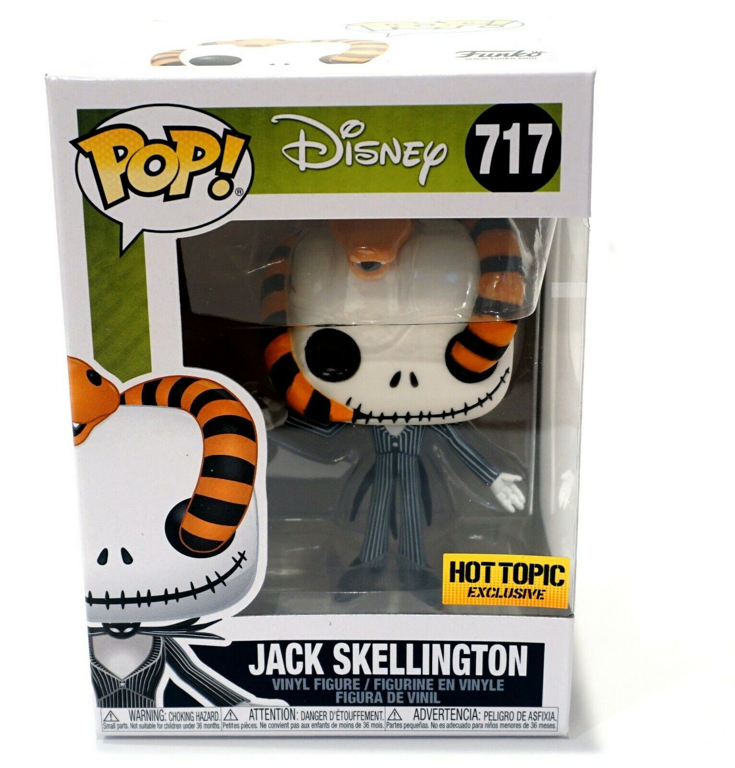 Jack Skellington Snake - Disney - Funko Pop! #717