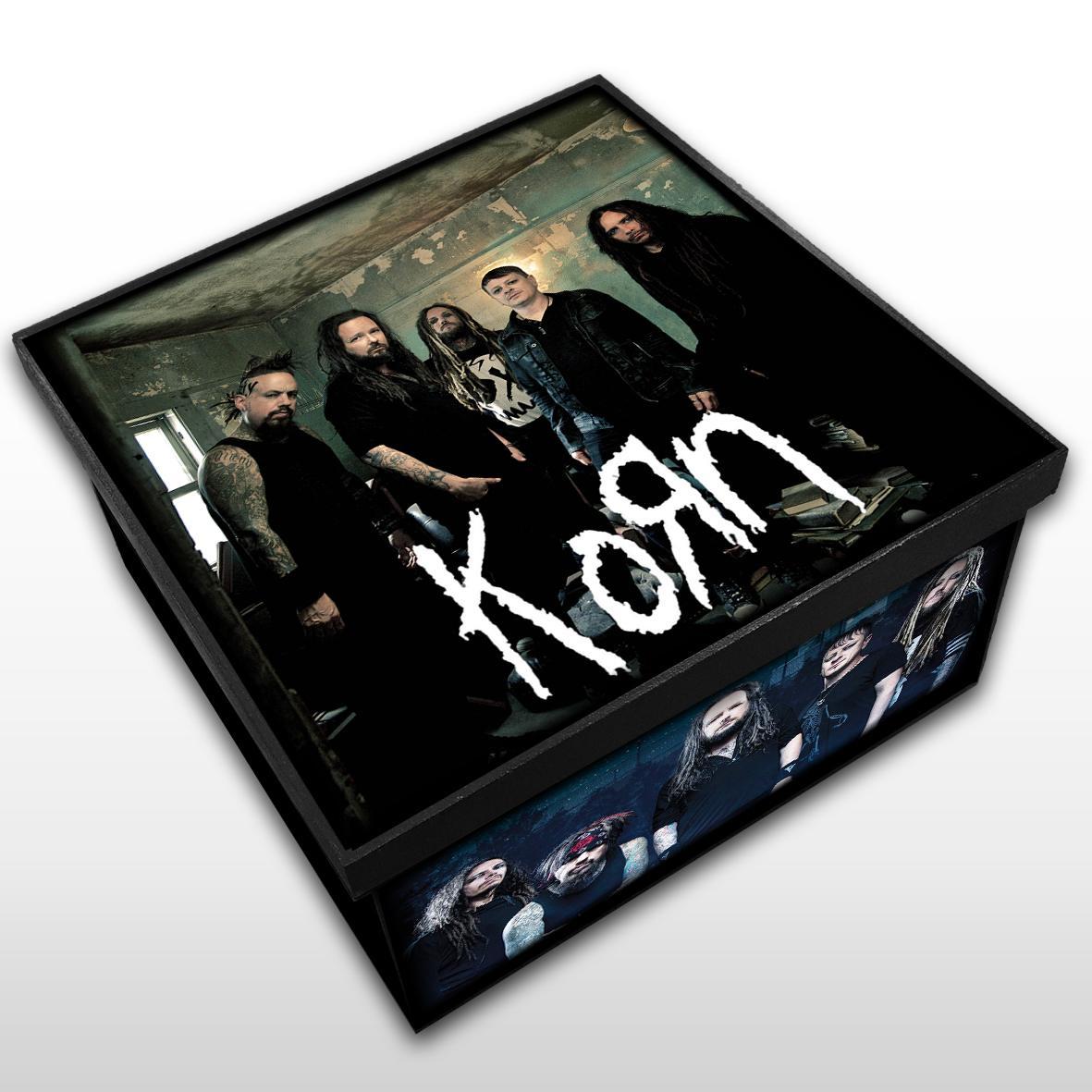 Korn - Caixa Organizadora em Madeira MDF - Tamanho Médio - Mr. Rock