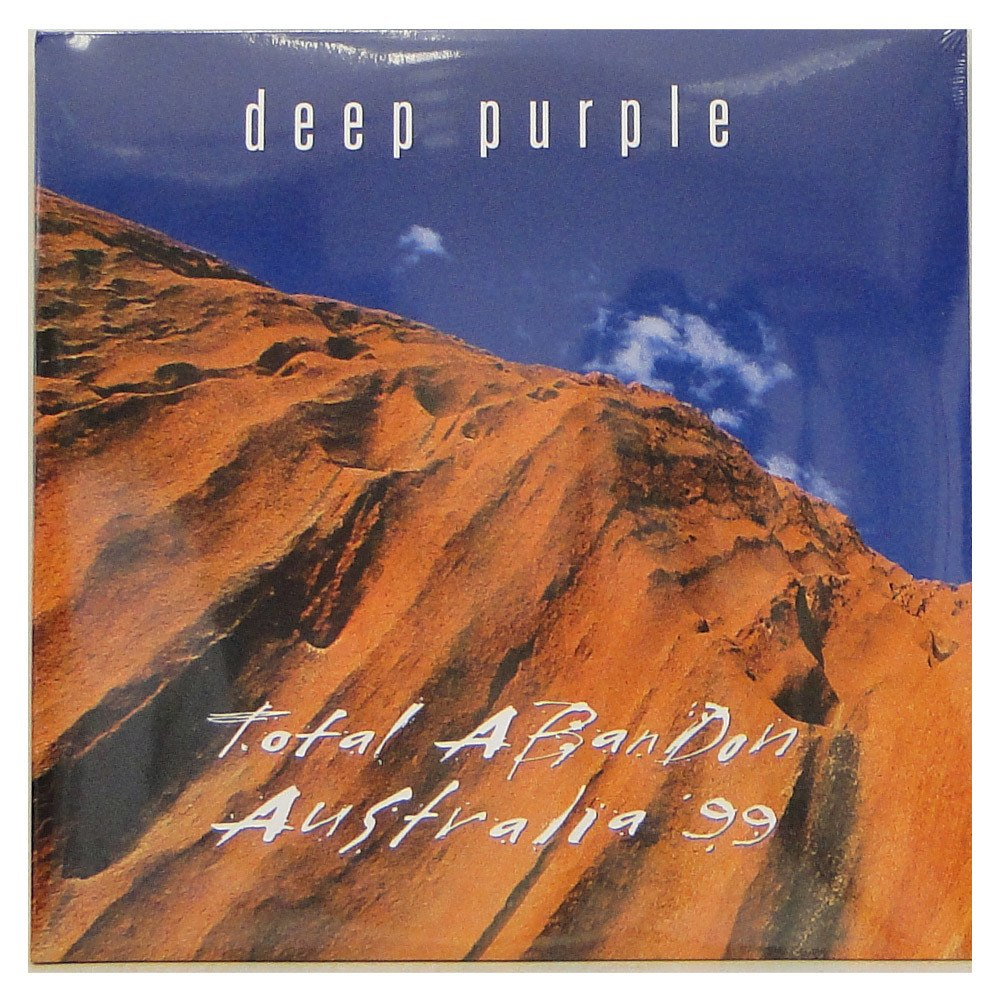 Lp Deep Purple ‎– Total Abandon – Australia '99 – Duplo