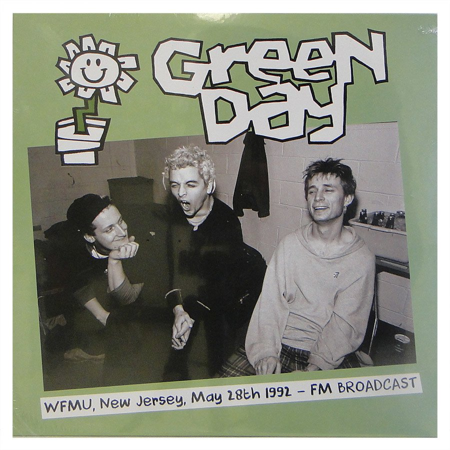 Lp Green Day ‎– WFMU, New Jersey May 28th 1992: FM Broadcast – Vinil Duplo Importado