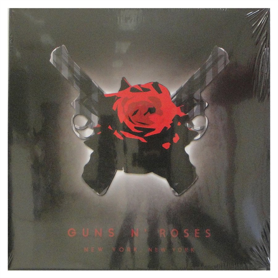 Lp Guns N' Roses – New York, New York – Vinil Duplo Importado