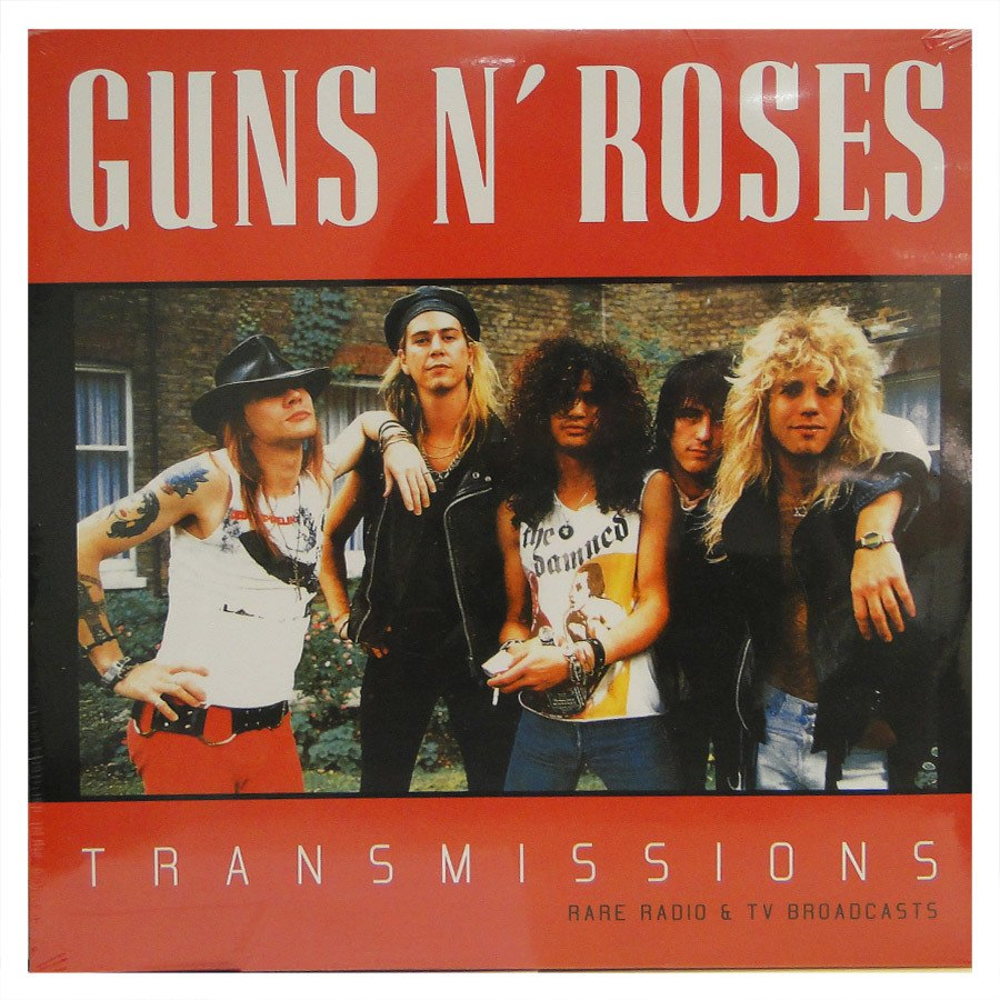 Lp Guns N' Roses ‎– Transmissions – Rare Radio e Tv Broadcasts