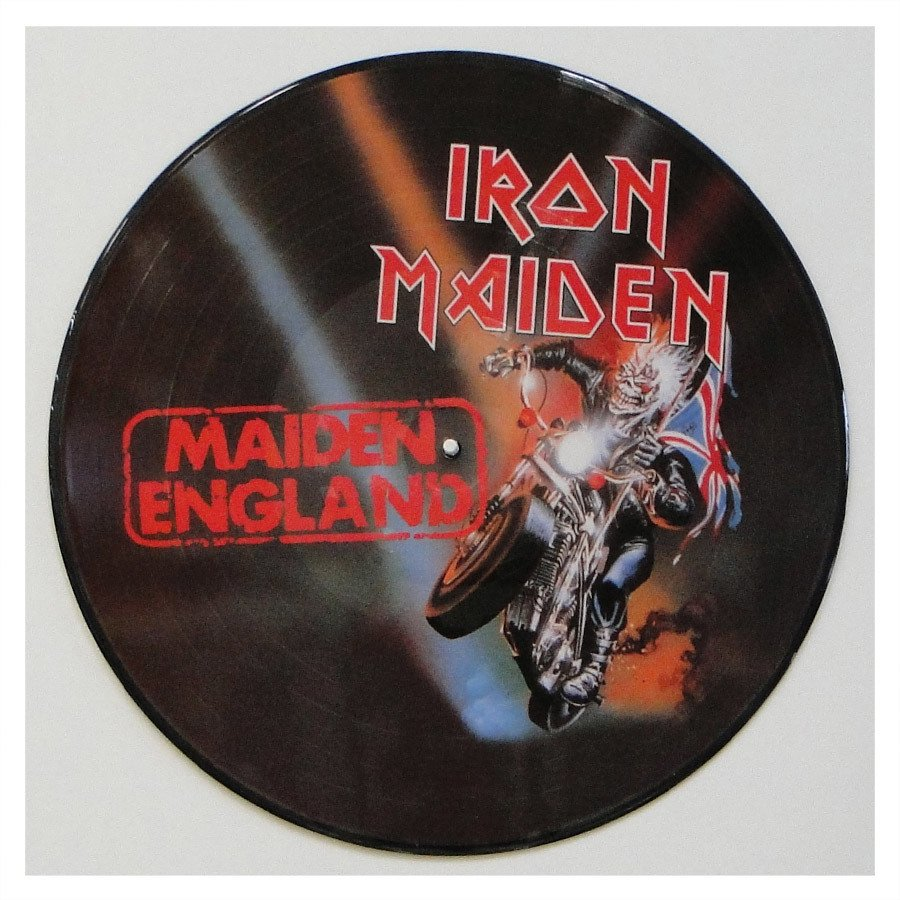 Lp Iron Maiden ‎– Maiden England – Picture Disc