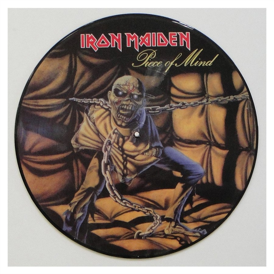 Lp Iron Maiden ‎– Piece Of Mind – Picture Disc