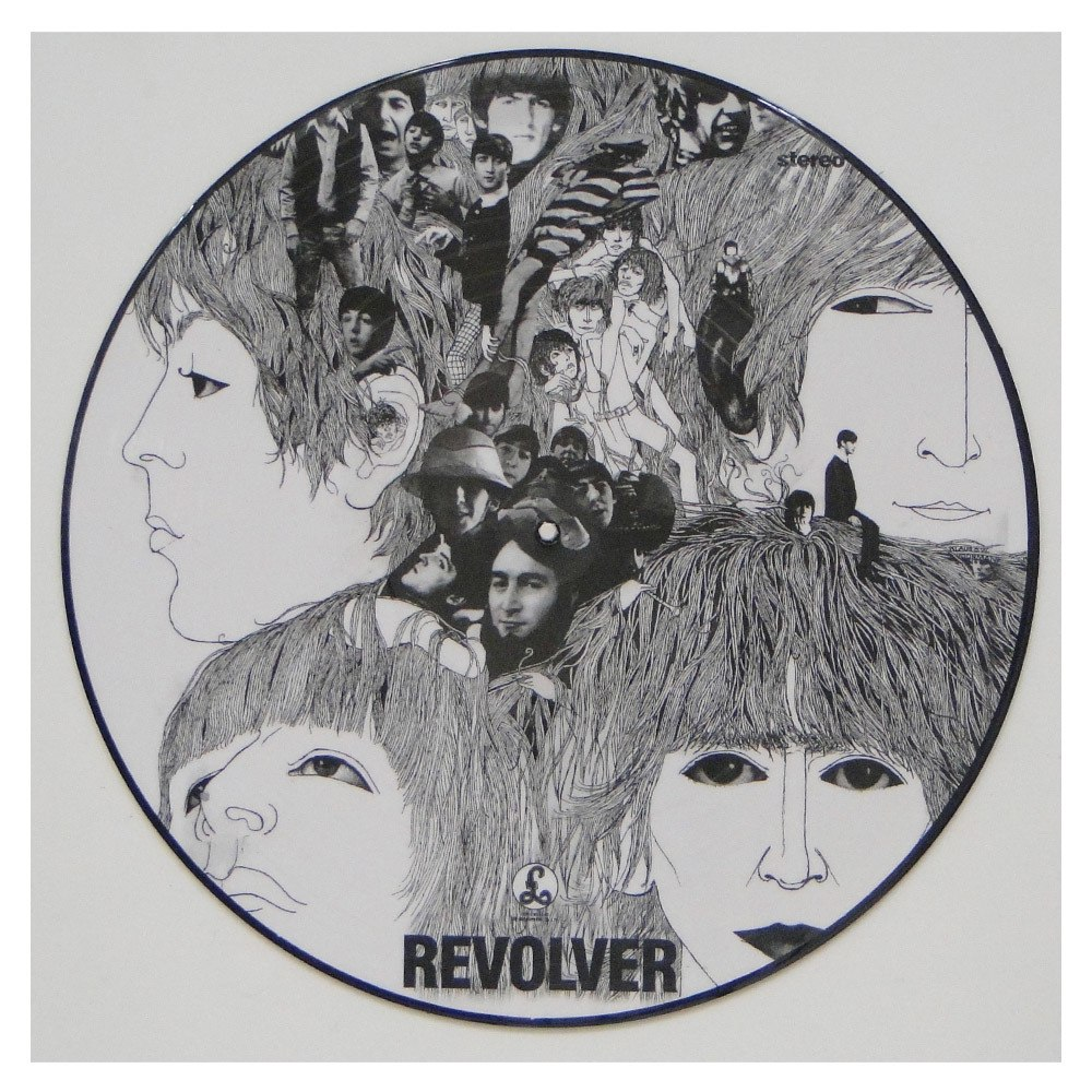 Lp The Beatles – Revolver – Picture Disc Importado