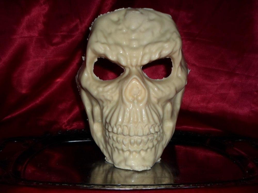 Máscara de Chocolate Crânio Modelo 1 - Goth Cake