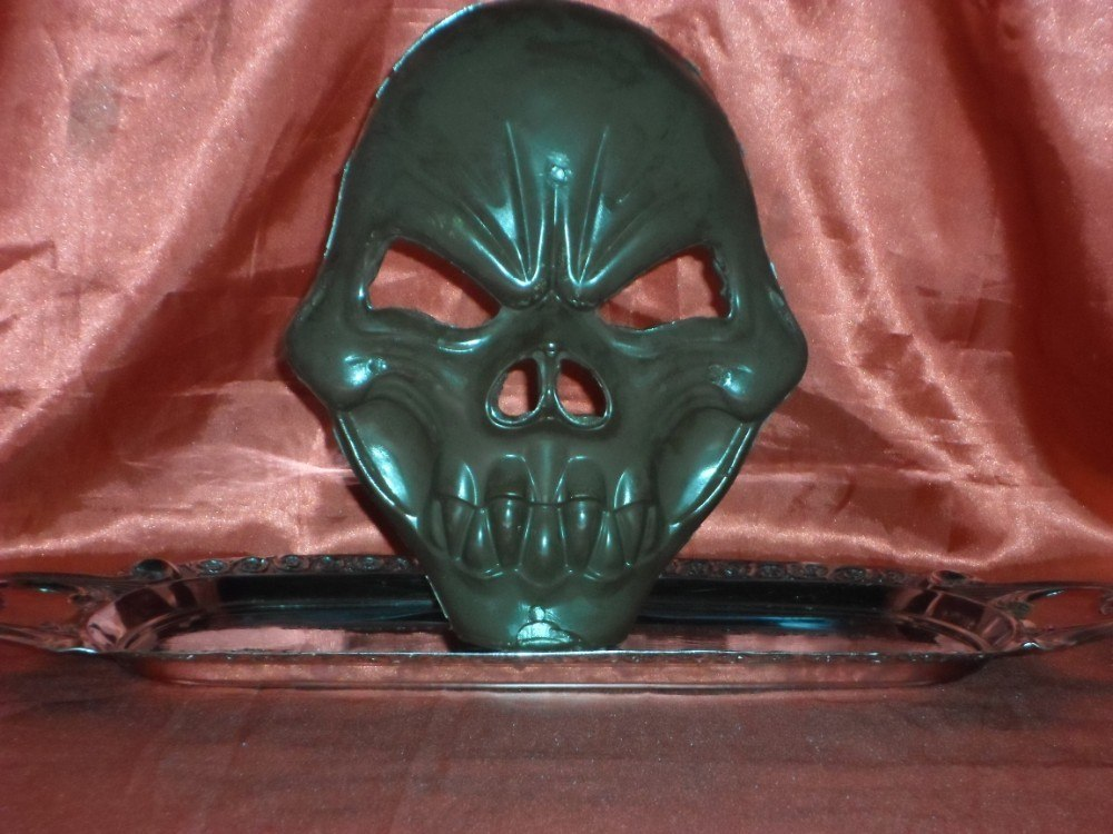 Máscara de Chocolate Crânio Modelo 2 - Goth Cake