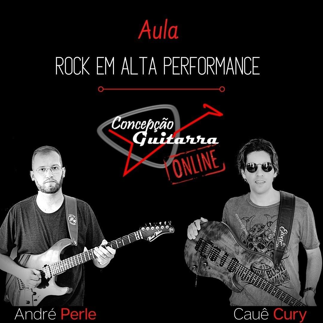 Masterclass de Guitarra ONLINE com os guitarristas André Perle e Cauê Hector