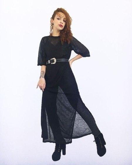 Maxi Vestido Flamê - Psicose Store