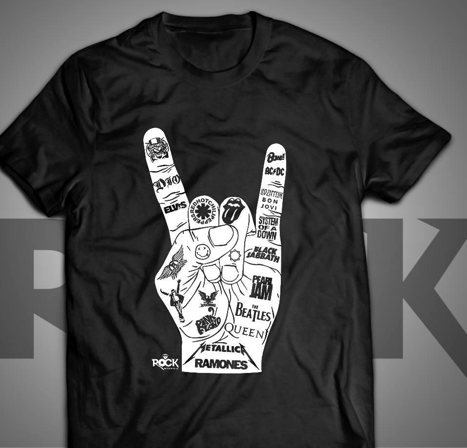 Camiseta Exclusiva Mitos do Rock