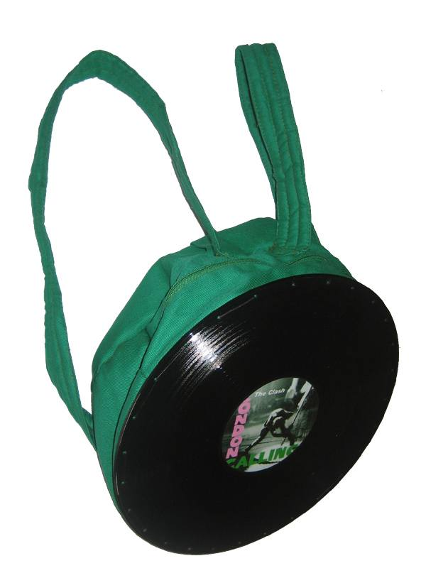 Mochila Verde The Clash